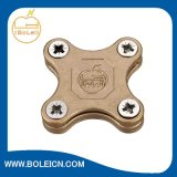 Earth Lightning Protection Copper Square Tape Clamp for Overlapping Tapes