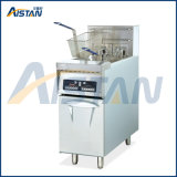 Df34 Vertical 2 Tank Computer Fryer of Catering Equipment