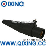 Large Current Black Rhino Horn Plug / Socket