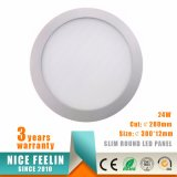 24W Ultra-Thin Recessed LED Downlight&Slim LED Ceiling Panel Light