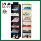 Non Woven Closet Hanging Shoes Apparel Storage Bag Organizer