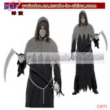Carnival Costumes Horror Death Robe Halloween Party Costume (C5071)