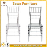 Wholesaler Wedding Plastic Clear Crystal Transparent Acrylic Chiavari Chair