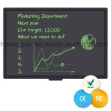 """Customized Eco Recycled Note 57"""" LCD Writing Black Board"""