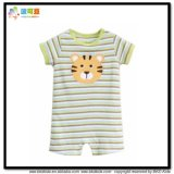 Stripe Printing Kids Clothes Unisex Romper