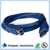 High Speed USB 3.0 Am to Bm Computer Printer Cable