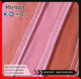 Pink 250GSM Twill Terry Inside Stretch Knitting Denim fabric