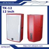 Fashion Design Single 12 Inch Professional Karaoke Speaker Box (TK-12)