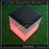 Remote Control LED Light Cube Stool with PE Material