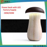 Mushroom Power Bank 8000 mAh with LED Light