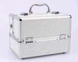 Double Open Aluminum Alloy Makeup Professional High-End Cosmetic Cases