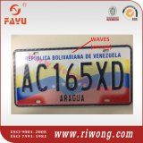 Anti-Fake Aluminum Car Number Plates, High Security Car License Plates
