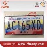 Anti-Fake Aluminum Car Number Plates, High Security Car License Plates