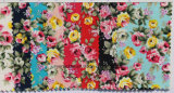 High Fashion Cotton Floral Pinted Fabric Necktie