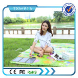 2 USB Ports 15W Solar Charger Mat for Picnic