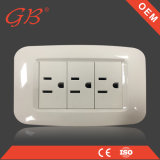 South American Electrical Wall Switch Socket
