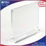 7 X 5 Acrylic Sign Holder with Magnets, T-Style Plexiglass
