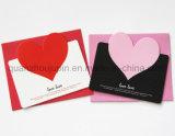 Custom Paper Valentine Greeting Wedding Invitation Card with Envelope