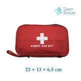 Medium Red First Aid Kit with Cross in Front Cover