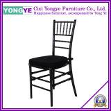 Resin Chiavari Chair (Black with cushion)