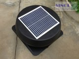 15W 14inch Built-in Solar Panel Powered Ventilation Fan with Brushless Motor (SN2013010)