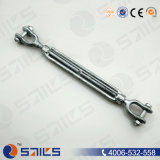 Galvanized Carbon Steel DIN1480 Turnbuckle (CE, SGS, BV, ISO)