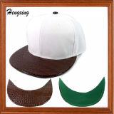Flat and Snakeskin Peak Snapback Hats