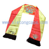 2017 Satin Football Fan Scarf (JRI048)