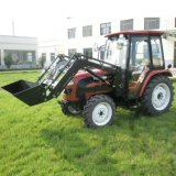 40HP 4WD Most Popular Tractor with Front Loader / Pellet Forks