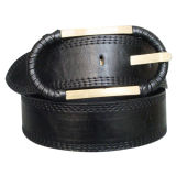 Round Buckle Lady′s Fashion Belt (KY1593)