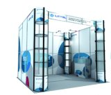 100% High Quality Reusable 10′*10′ft Standard Exhibition Booth (LT-ZH003)