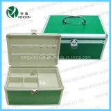 Lightweight Green Medical Cases Boxes First Aid Kit
