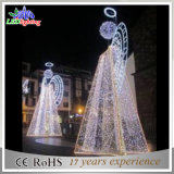 Super Bright LED Outdoor Angel Motif Light for Christmas