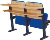 School Classroom Desk and Chair Lecture Hall Seat University Auditorium Chair (S05)