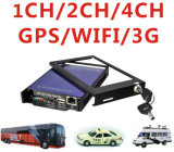 4 Channel D1 Mobile DVR Works with 1PCS 128GB SD Card, Bus DVR, Taxi DVR, Truck DVR, Bd-301