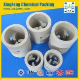 Anti-Acid & High Temperature Endurance Random Tower Packing Ceramic Pall Ring