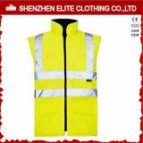 Fashion Workwear Fluorescent Yellow Safety Vest (ELTHVVI-4)