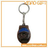 Custom Logo Metal Gold Keychain for Gifts (YB-MK-14)