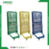 Warehouse Foldable Roll Container Laundry Cage