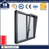Tilt & Turn Opening Style Double Pane Aluminum Casement Window