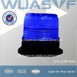 Solar Powered LED Strobe Warning Beacon Light