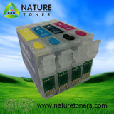 Refillable Ink Cartridge T1811, T1812, T1813, T1814 for Epson Printer XP-30/XP-102/XP-202/XP-305/XP-405