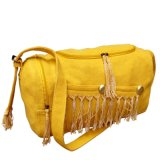 Fashion Jute Shoulder Bag for Lady, Handbag (BS8045)