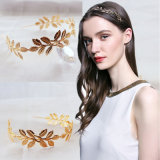 Zinc Alloy Leaves Hair Accessories Plating Gold/Silver