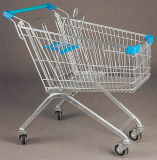 Standard Supermarket Shopping Cart with Baby Seat