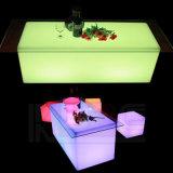 LED Cube Table Square Wedding Table LED Illuminated