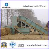 Automatic Horizontal Hydraulic Straw Hay Baler Machine with Conveyor