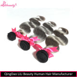 Fast Delivery Virgin Human Hair 1b Grey Body Wave Hair Bundles