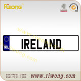 Blank Car Number Plate for Ireland