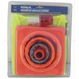 Traffic Safety Set with Traffic Cone, Reflective Vest (JMC-402C)